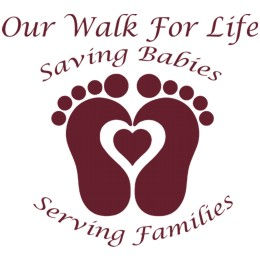 Our Walk for life logo